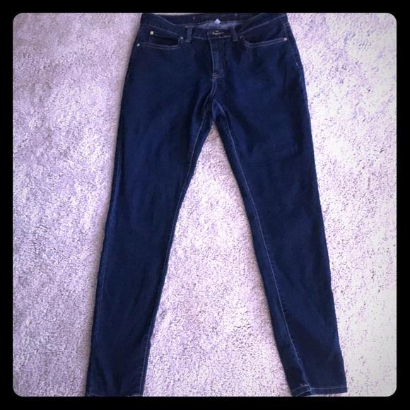 d46813bf807 Jennifer Lopez Denim - Jennifer Lopez Dark Blue Skinny Jeans 👖 size 8